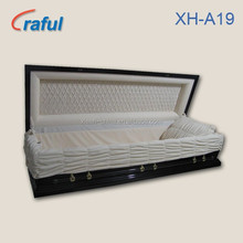 American Style Funeral Casket Coffin for sale(XH-A19)adult coffin
