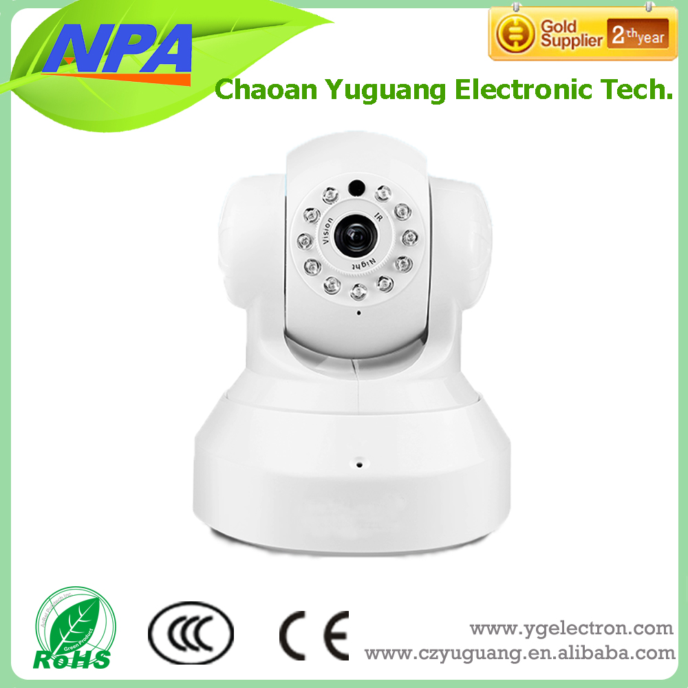 720P HD IP Wifi wireless Camera With audio function TF card recording Camera
