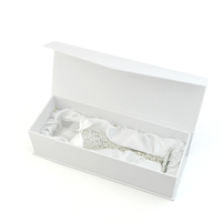 High-end red wine glass champagne cup packing box with silk lining