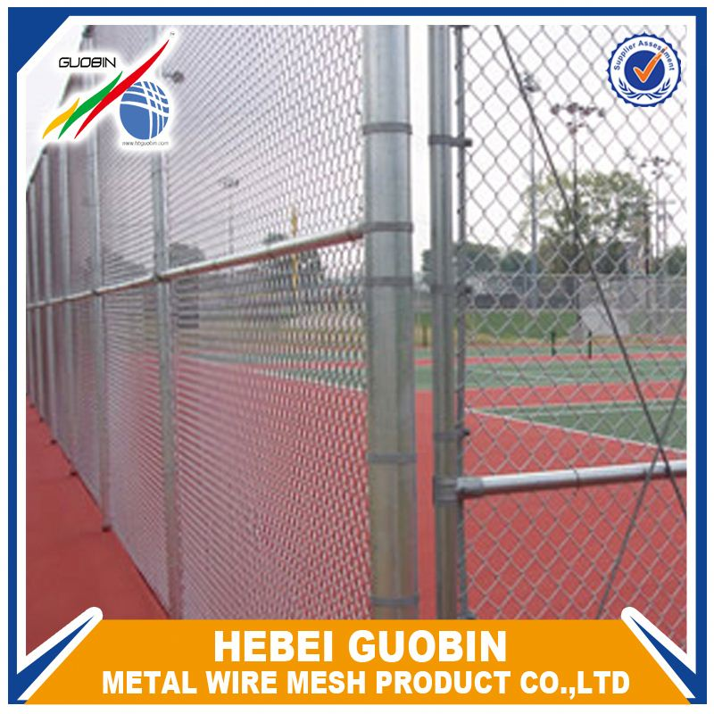 Pvc Coated Chain Link Fence Roll For Sports Filed Fence