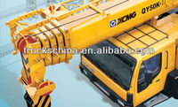 XCMG 5-section telescopic boom 50 ton truck crane