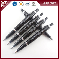 Hot selling Classic metal ball pen advertising pen with decorative trim