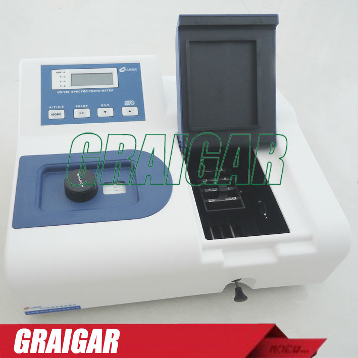 Visible Spectrophotometer 721 wavelength range 320-1020nm Spectral Bandwidth 6nm
