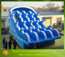 Commerical adult size inflatable water slide for sale