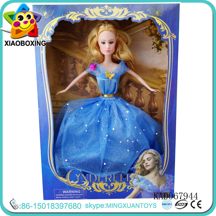 Blue dress Princess Barbie Doll