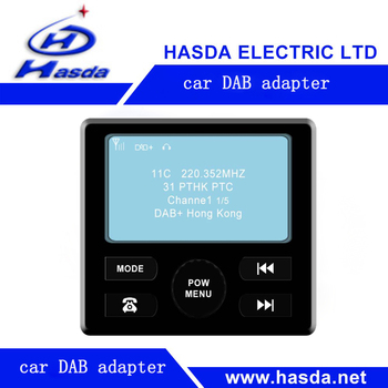 dab radio car bluetooth adapter