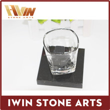 Customized Marble /Granite Stone Cup Mats/Placemat Coaster
