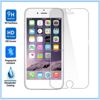 New coming! free DHL shipping newest product tempered glass screen protector for iphone 6s with packing