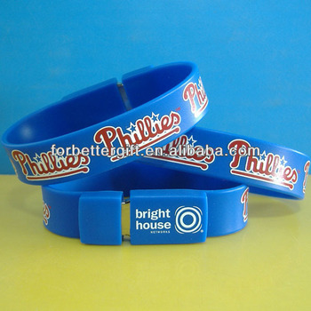 Competitive Price For Silicone USB Bracelet