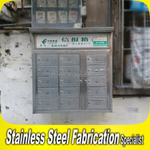 Stainless Steel Letter Box Mailbox Wall Mounted Mail Post
