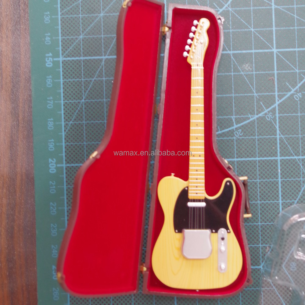 OEM replica musical instruments 1:8 scale Customize guitar model 8 string guitars miniature guitars