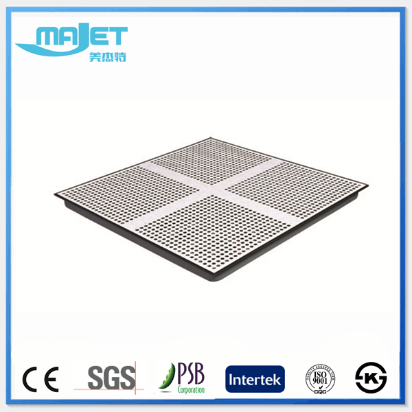 Changzhou factory price galvanized steel plate perforated access floor