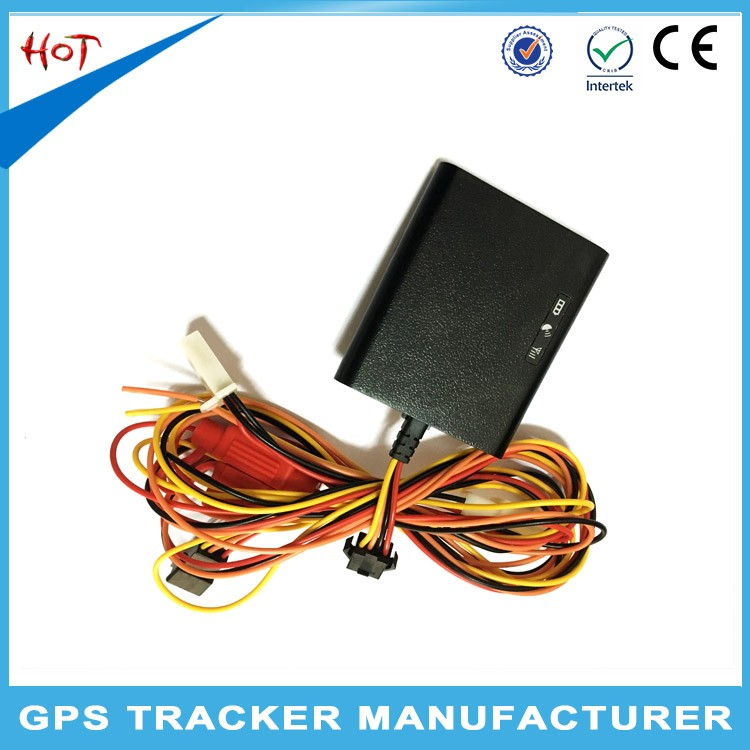2016 Mini waterproof motorbike gps tracker T100B with Wide working voltage
