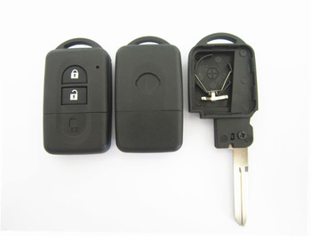 2 button origianl quality replacement smart key cover for Nissan smart key shell