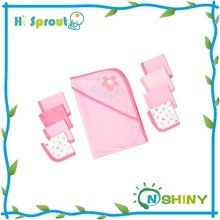 Girl Pink Super Soft Cotton Terry Towel Baby