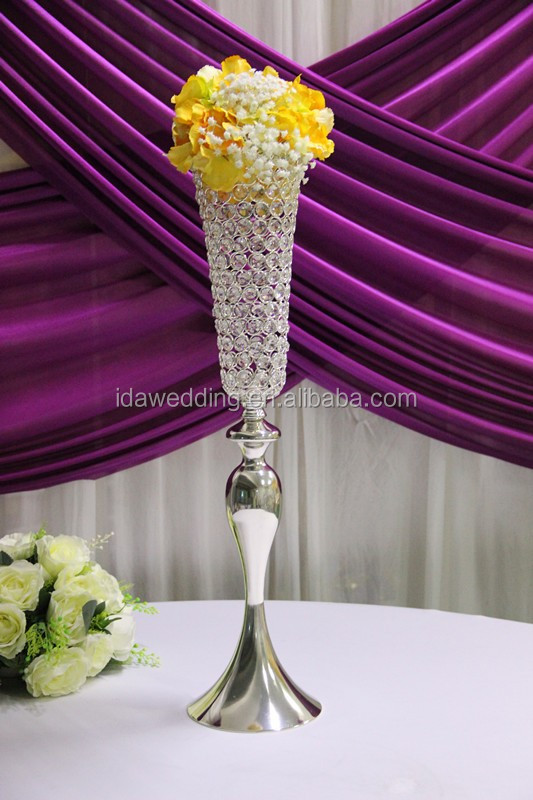 tall crystal vase candelabra centerpiece wholesale