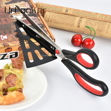 Hot Selling High-grade Kitchen Stainless Steel Pizza Scissors With Shovel