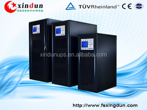 Low frequency online ups backup power supply for industry, telecom 30KVA/160kva/50kva