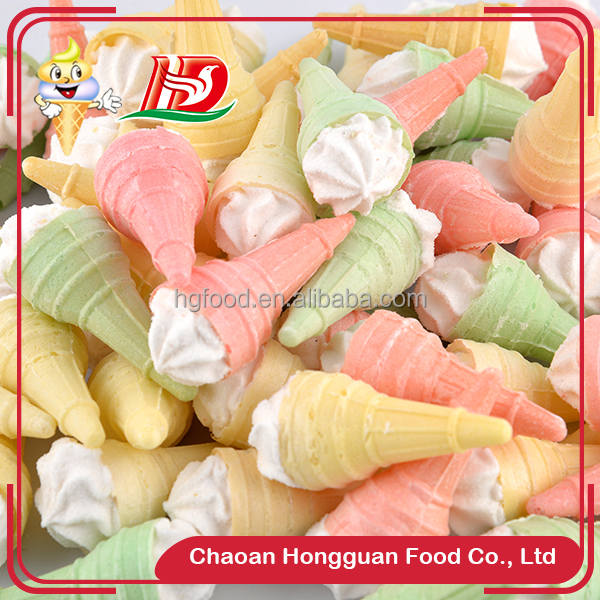 Cheap marshmallow ice cream wholesale custom candy color