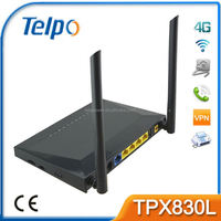 Telpo TPX830L 4G LTE Gateway 4 port gsm quad band 850/900/1800/1900mhz gsm terminal (goip-4) costly phone costly phone