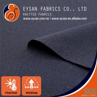 EYSAN Quick Dry Thermal Lycra Knitted Polyester Fabric For Clothing