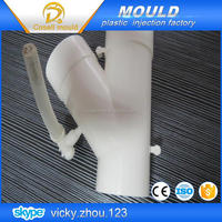 rubber edge moulding/ pvc y pipe fitting mould /plastic connector pipe mould
