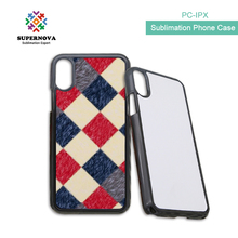 2017 New Product 2d Sublimation Mobile Phone Case, Blank Sublimtion Cover For iphone X, Sublimation Blanks For iphone X