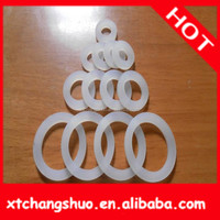 silicone foam rubber gasket/o-ring/oil seal/washer for wholesale ISO9001 approved high quality green viton seal o-ring