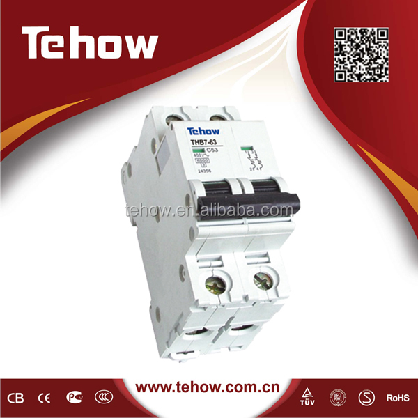 DZ47-60 Series 3KA 4.5KA 6KA New type 35mm din rail MCB