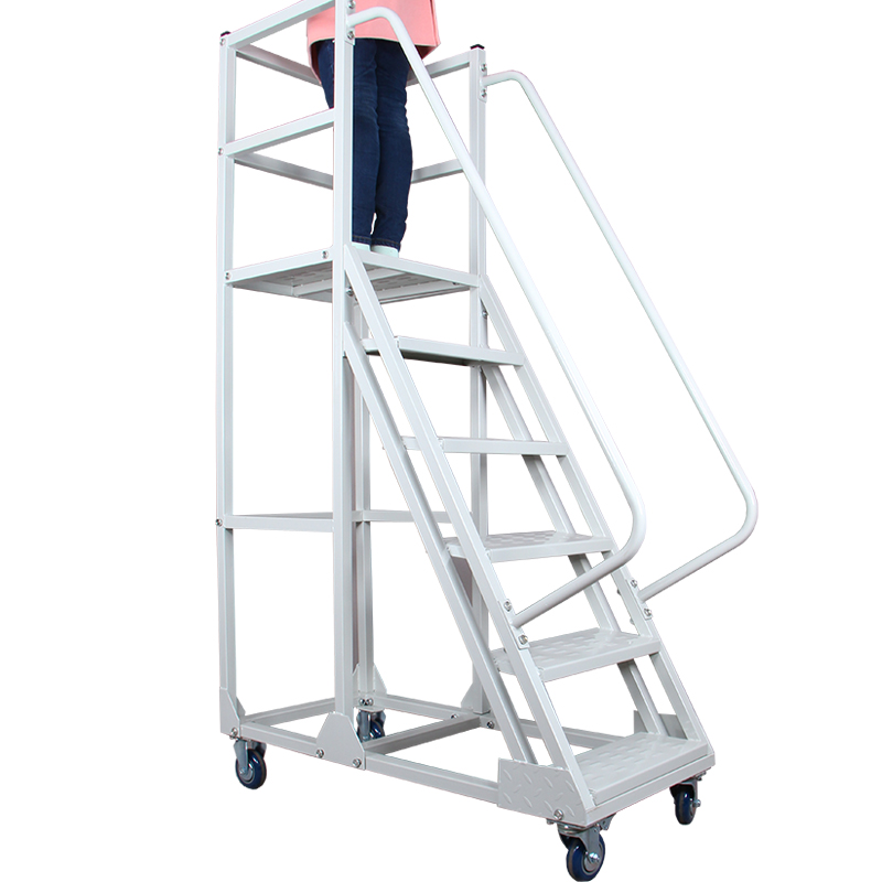 Delicieux Moveable Stair Ladder Truck Climbing Truck Step Ladder   Buy Ladder,Ladder  Cart With Brake,Movable Ladder Catr Product On Alibaba.com