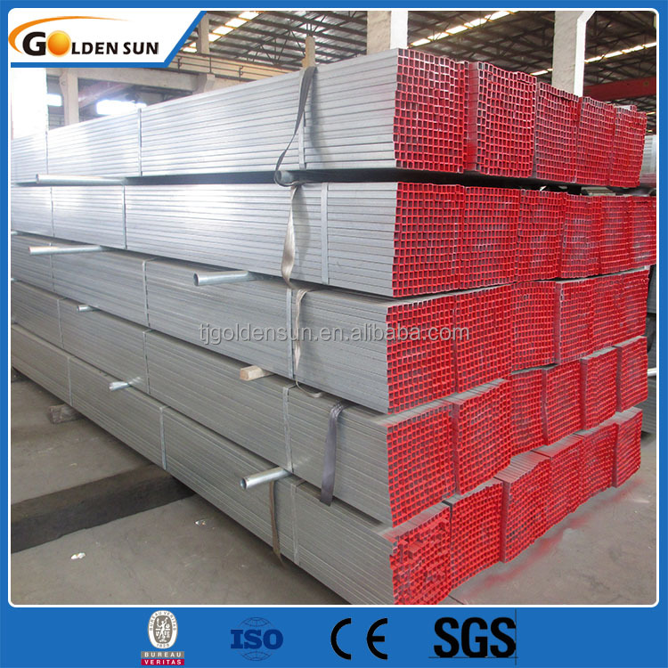 Galvanized welded tube 666/galvanized square tube/ms square pipe weight chart