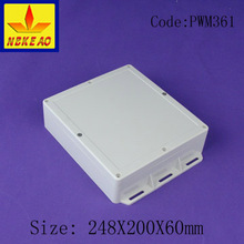 IP66 prtotection level plastic wall mounting waterproof distribution box