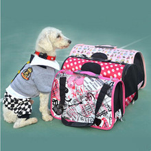 2015 HOT!!! Pet Luggage Carrier Dog Bag Cat Bag Handbag Brand Desinger Travel Bag Pet Products Size S M L