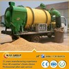 hot selling grain dryer 2014 small mechanical mobile spent grain Sweet corn drying plant for sale