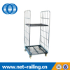 Wire laundry insulated steel roll container
