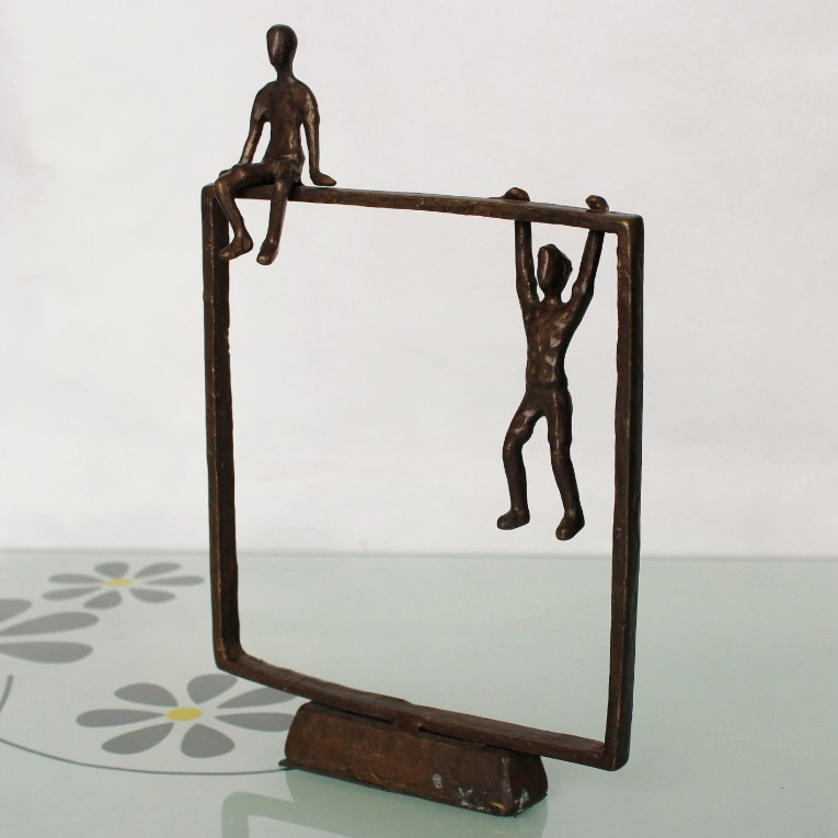 cast iron metal arts and crafts bronze sculptures for home decoration
