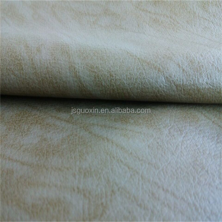 New Pu leather water born PU synthetic leather for coat material (HA031)