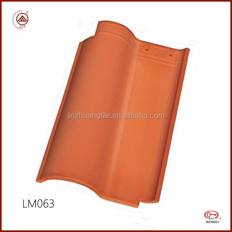 French Style Ceramic Roof Tile Clay Roofing Tiles Manufacture in China