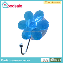 Blue color bathroom powerful assorted suction cup hooks