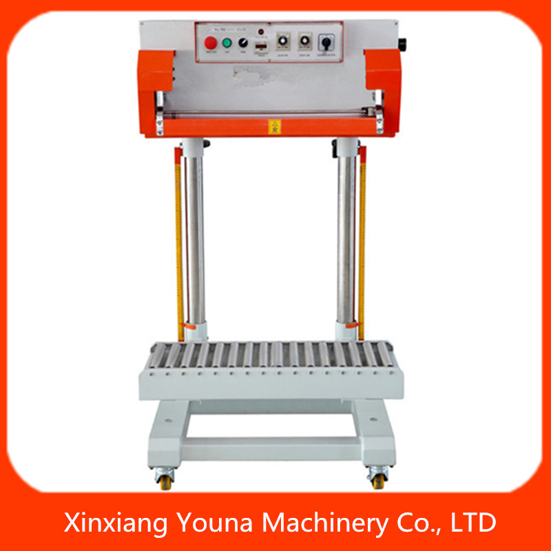 Pneumatic plastic bag Sealer QLF700A rice / grain bag sealing machine