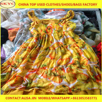 China original used clothing formal women clothes used suit in bales for Africa buyers