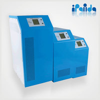 hybrid pv solar inverter 96v 192v 10kw with battery charge and UPS