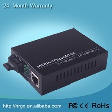 Fast delivery 10/100M fiber optic to RJ45 converter original pro extender
