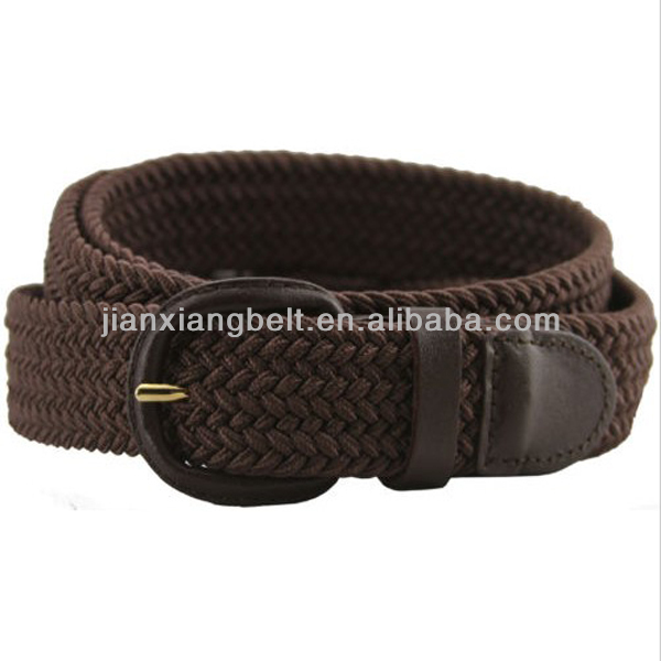 Fashion High Quality Low Price Colorful Fabric Leather Braided 1.35'' Wide Western Beaded Belts
