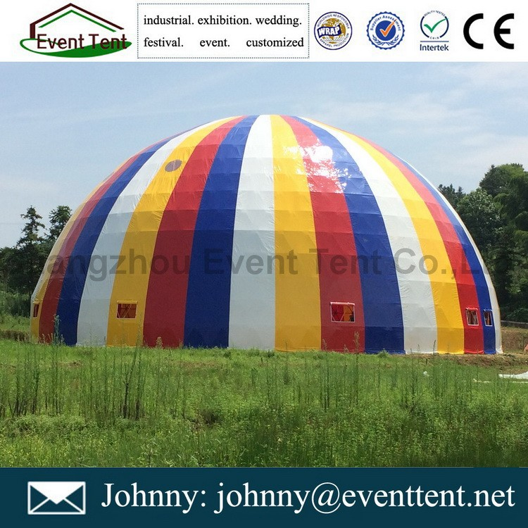 Brand new steel structure discount marquee geodesic dome tent, half ball tent
