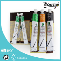 hot sale maries oil paint tube/50ml/170ml per tube oil paint color oil color