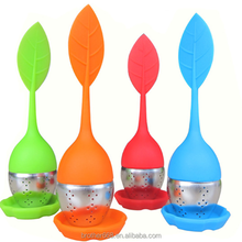 OEM/ODM hot sale silicone tea infuser silicone with stainless steel tea infuser