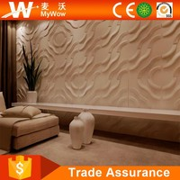 3D Decorative Modern Wood Wall Panels for Interior Exterior Designs
