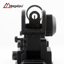 High quality Iron Folding Front and Rear Iron Fit Picatinny Rail 20mm mount