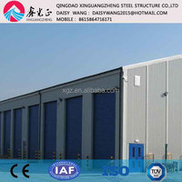 Prefabricated two/multi storey steel structure office building construction